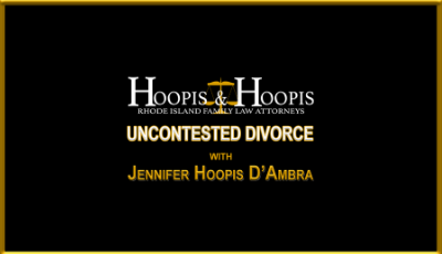 What is an uncontested divorce?